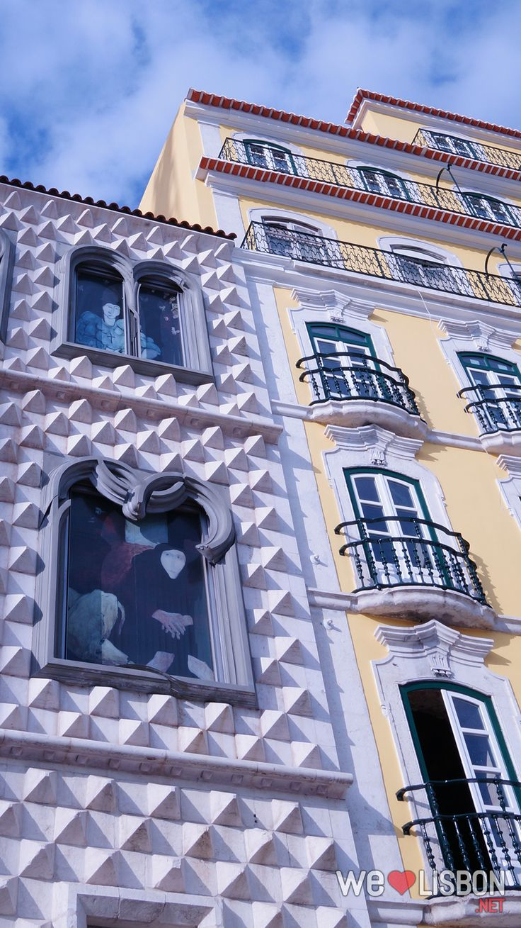 Casa dos Bicos, Lisboa, downtown near the river - the typical neighborhoods #Portugal