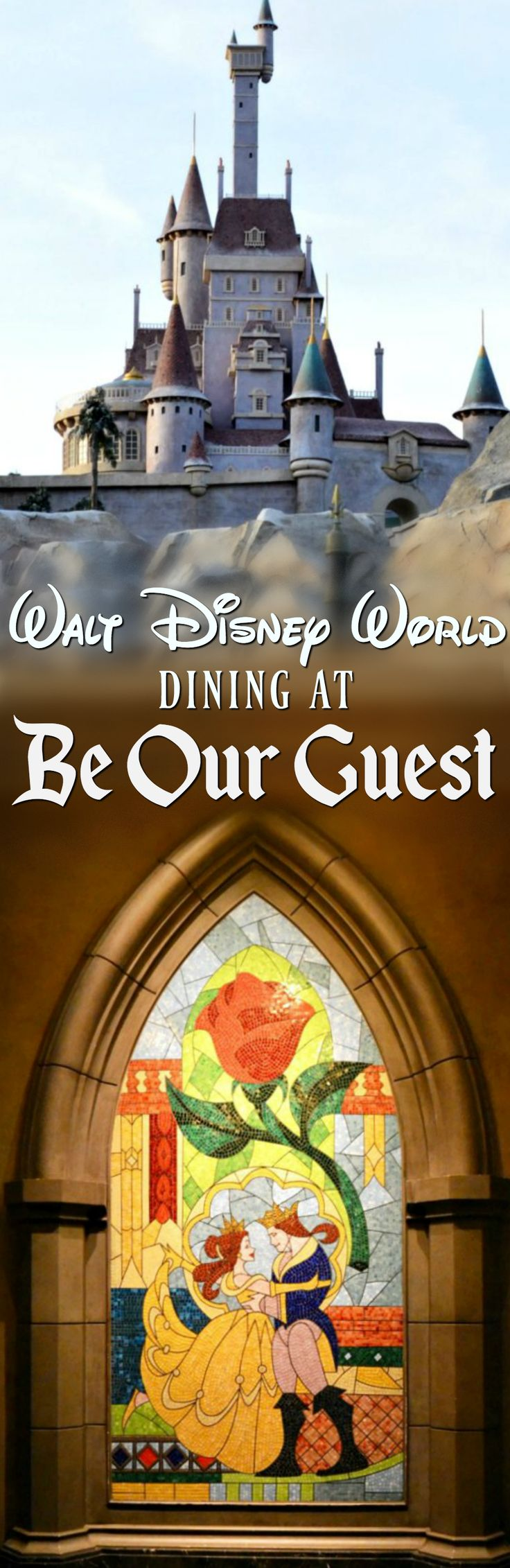 Dinner at Walt Disney World's Be Our Guest is a must for any fan of Beauty and the Beast!