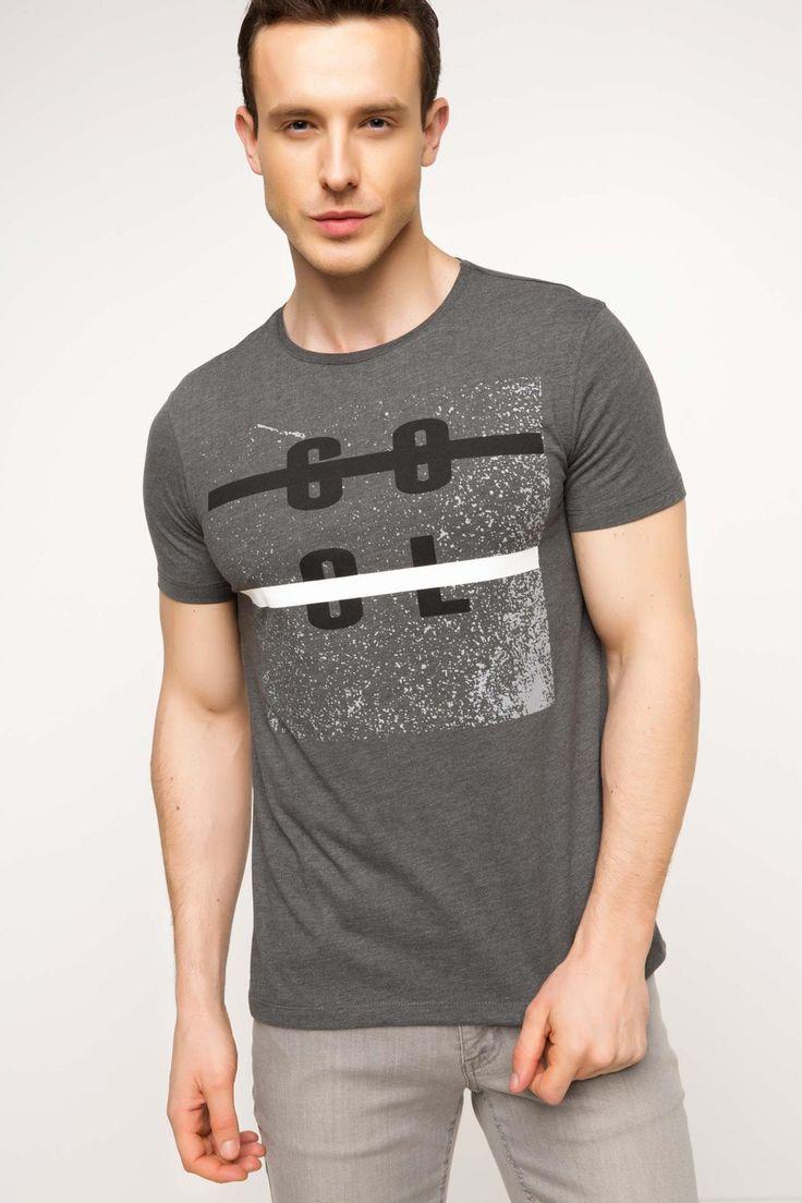 DeFacto Marka Cool Baskılı T-shirt || Üzerinde bulunan trend baskısı ile tarzınızı yansıtacağınız, dar kalıplı DeFacto erkek baskılı t-shirt                        http://www.1001stil.com/urun/3404953/cool-baskili-t-shirt.html?utm_campaign=DeFacto&utm_source=pinterest