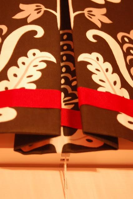 12 devonshire: DIY No Sew Box-Pleat Valance