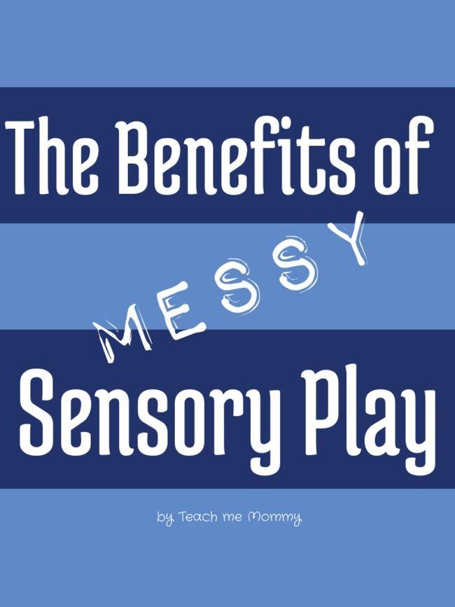 Benefits of Messy Sensory Play