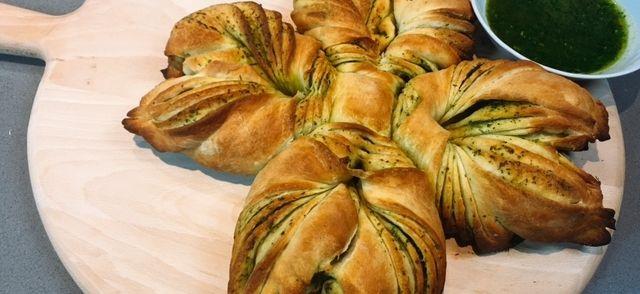 Kruidenbrood Kerstster recept   Smulweb.nl