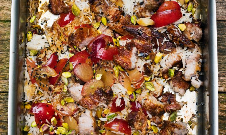 Nigel Slater's fruit and nut recipes for early autumn