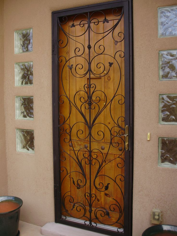 security door in las cruces, nm... they don't have to be ugly!