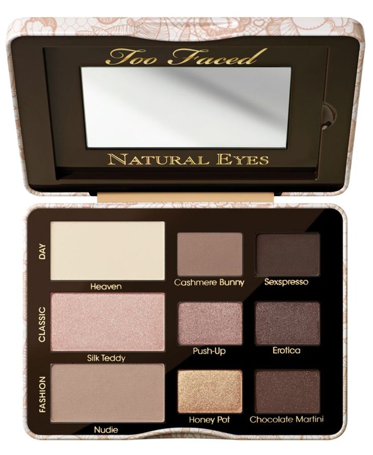 Too Faced Natural Eye Neutral Eye Shadow Collection - Gifts with Purchase - Beauty - Macy's