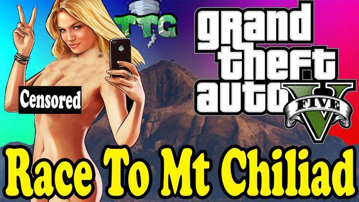 The Amazing Race To Mt Chiliad #GrandTheftAutoV #GTAV #GTA5 #GrandTheftAuto #GTA #GTAOnline #GrandTheftAuto5 #PS4 #games