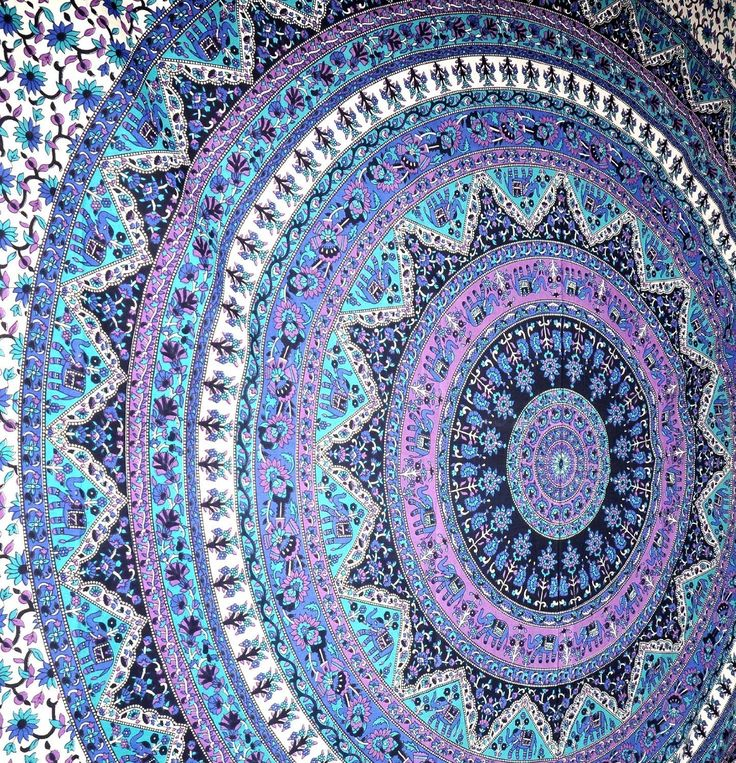 Amazon.com - Large Indian Mandala Tapestry Hippie Hippy Wall Hanging Throw Bedspread Dorm Tapestry Decorative Wall Hanging, Picnic Beach Sheet Coverlet -