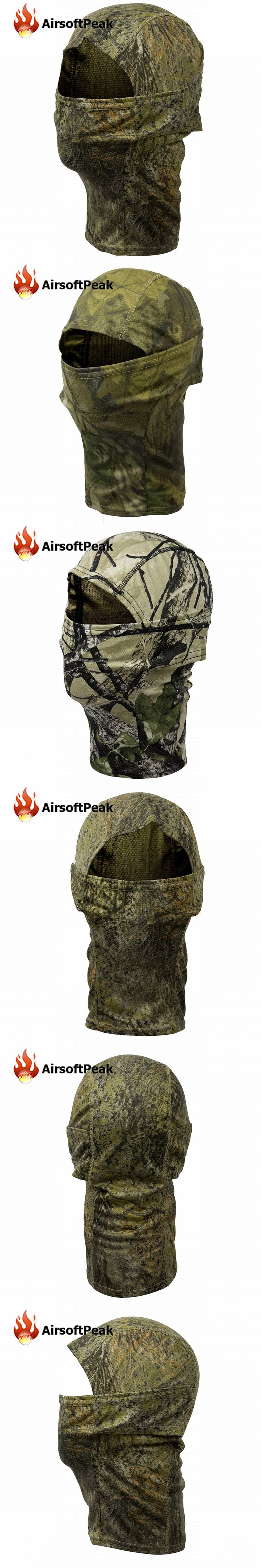 Bionic Camouflage Full Face Mask Quick-dry Fabric Hunting Cycling Hiking Outdoor Windproof Sunshade Scarf Hood Balaclava