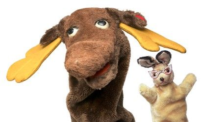 Mr. Moose & Bunny Rabbit from Captain Kangaroo.  This was one of my favorite shows-don't forget Mr. Greenjeans!