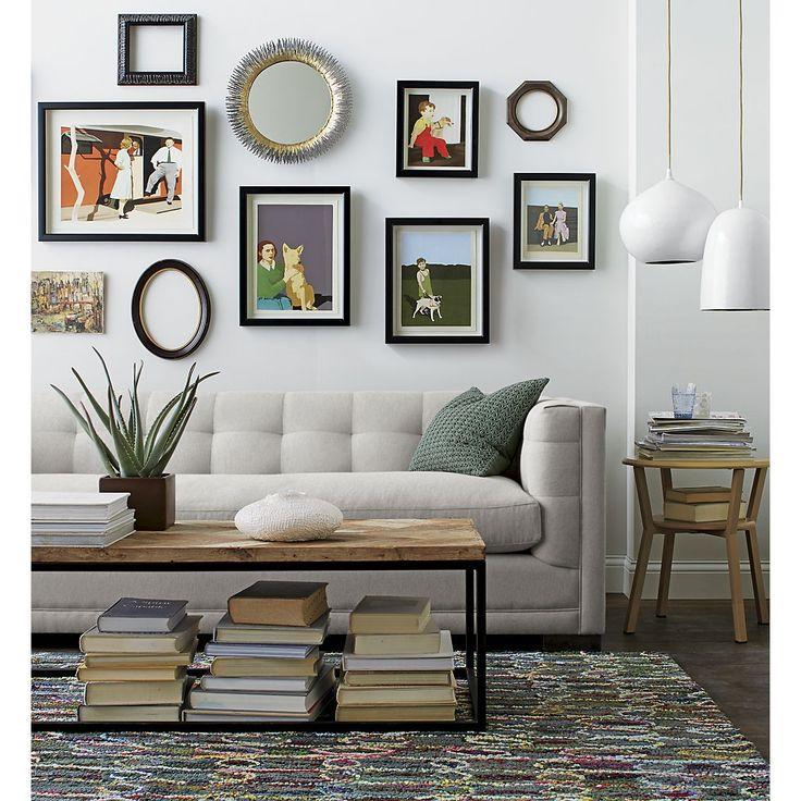 Evie Full Sleeper Sofa in Sofas | Crate and Barrel  Dream sleeper sofa
