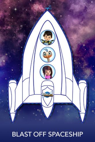 SPaceship craft | Miles from Tomorrowland Free Printables & crafts | SKGaleana