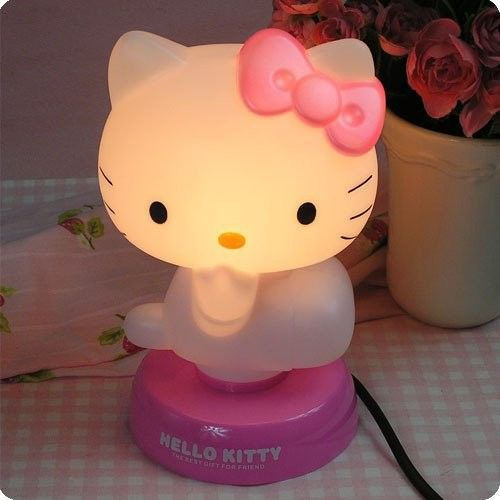 LTD EDITION HELLO KITTY LAMP! Take home a limited edition HELLO KITTY LAMP! Normally priced at $39.99. We want you to have this today! Limit 10 Per Order **While Supplies Last*** Please allow 4-6 week