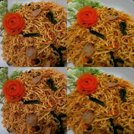 FRied NoodleRose! Nyamm..nyaamm...