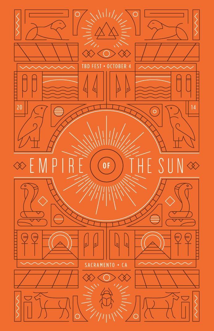 Empire of the Sun Poster — Designspiration