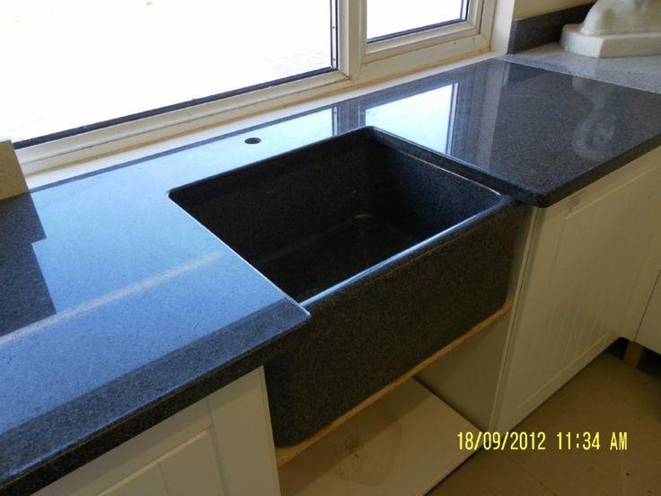 Image Result For Grey Granite Kitchen