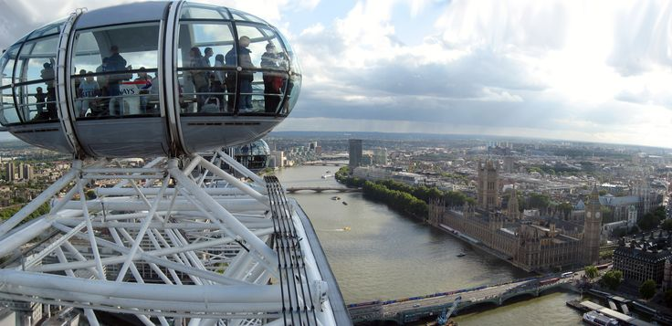 Coca-Cola London Eye gives you a perfect view of the City.