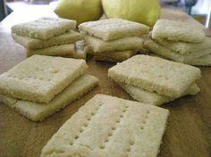 Biscotti all'olio d'oliva, limone e vaniglia