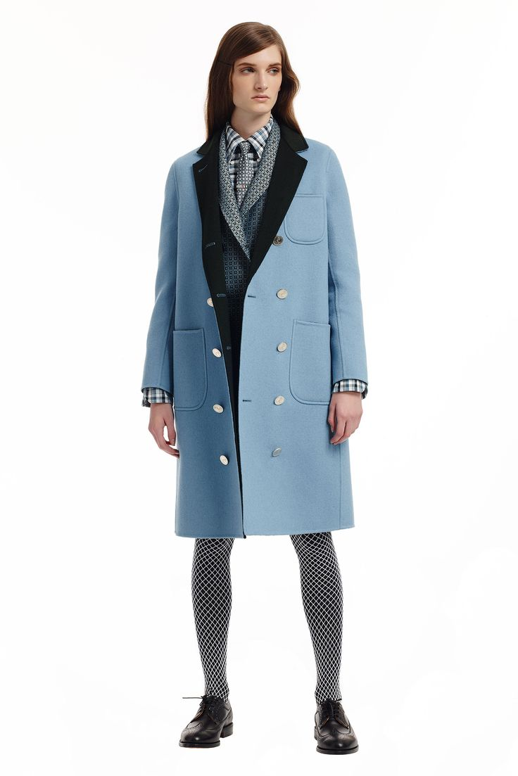 Thom Browne - Pre-Fall 2015 - Look 13 of 26  #ThomBrowne