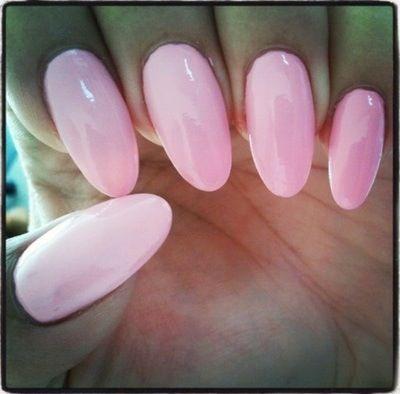 Pink almond acrylic nails | Nails. | Pinterest | Almonds ...