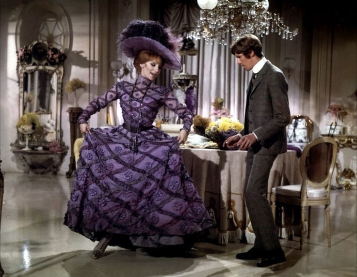 "HELLO DOLLY (1969)  Romantic comedy musical film based on the Broadway production of the same name. Dolly Levi (a strong-willed matchmaker) travels to Yonkers, New York, to find a match for the miserly ""well-known unmarried half-a-millionaire"" Horace Vandergelder. In doing so she convinces his niece, his niece's intended, and Horace's two clerks to travel to New York City."