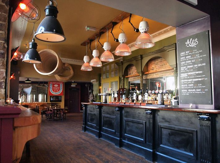 People's Park Tavern - Hackney Wick - Huge beer garden - onsite brewery - right next to Victoria Park - pies - Sunday roasts - comedy - open mic - camembert - aioli