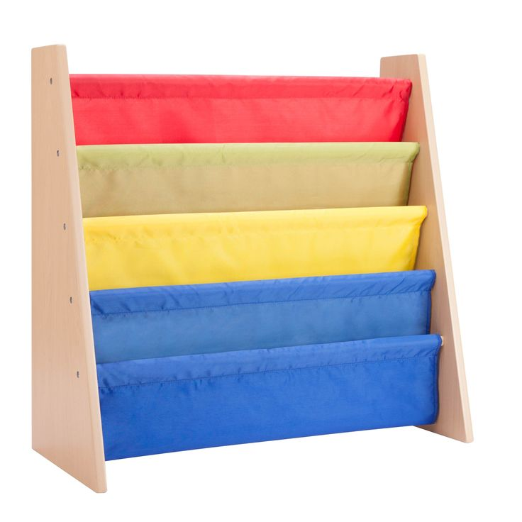 Honey Can Do book rack, primary