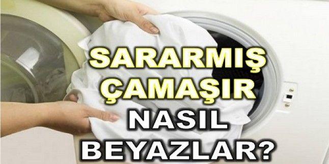 Sararmış Çamaşırlar Nasıl Beyazlatılır?