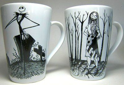 *JACK SKELLINGTON & SALLY ~ Cups