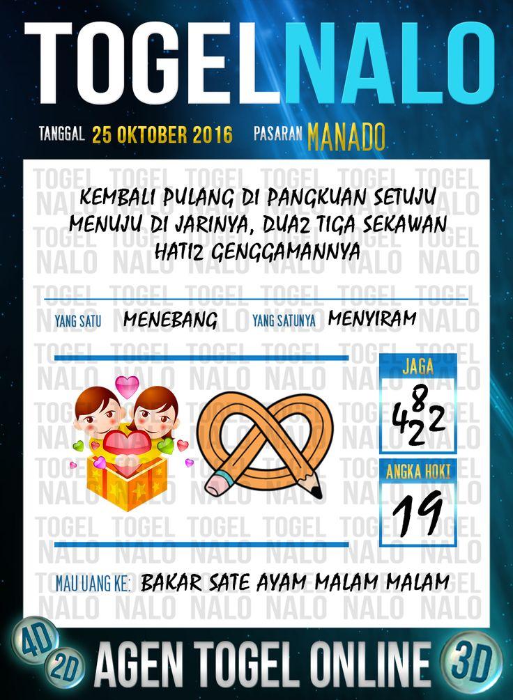 Tafsir Syair Togel Wap Online Live Draw 4D TogelNalo Manado 25 Oktober 2016