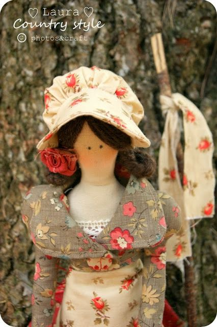My name is Melita lovely and sweet  doll handmade <3 project sewing creative book FALL IN LOVE pattern 2 level by laura countrystyle