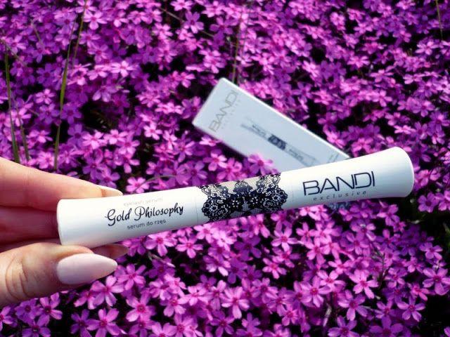 Kosmetyczne różności: BANDI Stymulator wzrostu rzęs i brwi Gold Philosophy- efekty!