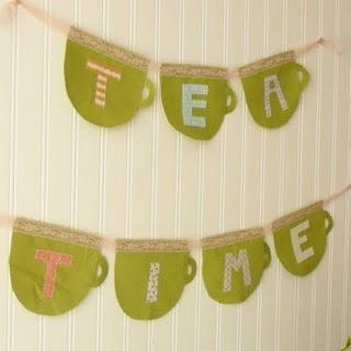 tea time crafts