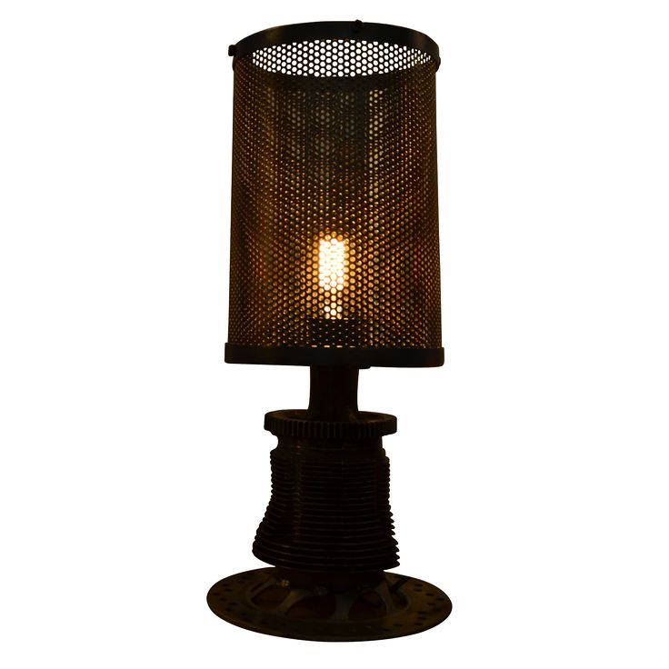 Table Lamp Industrial. Industrial Inspired table lamp