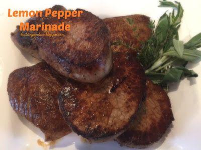 Building Our Hive: Lemon Pepper Marinade