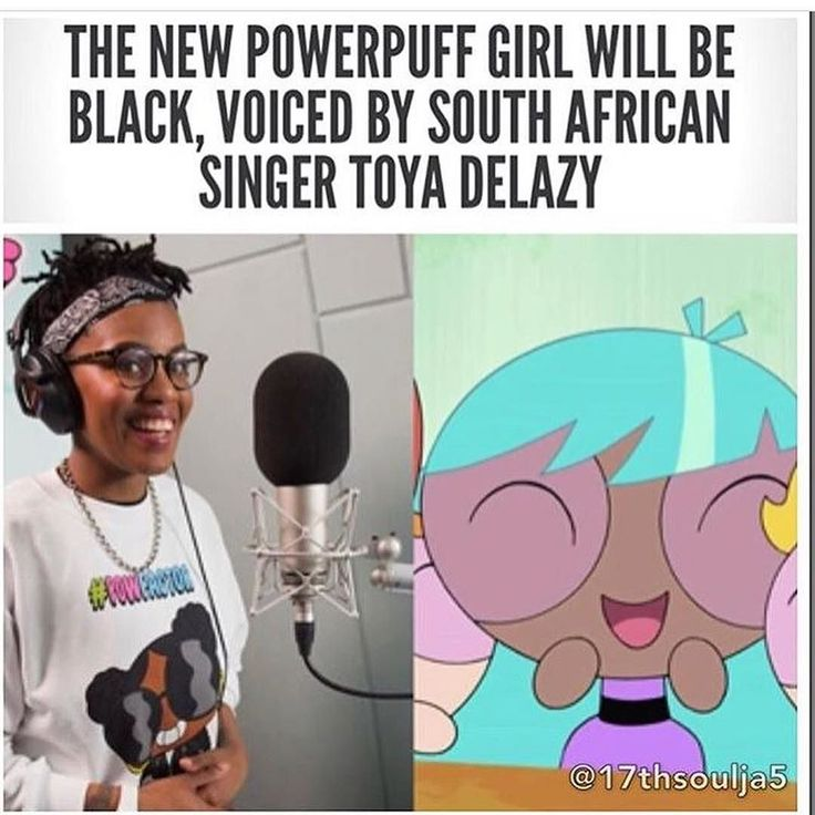 The iconic Cartoon Network cartoon The Powerpuff Girls is being rebooted. The reboot will include a fourth Powerpuff Girl (named Bliss) to join Blossom Bubbles and Buttercup and she's black! After it was rumored for a few days South African singer Toya Delazy Delazy announced the news on social media. We don't know the name of Delazy's character or how long she'll be around we just know she has blue hair. The network officially announced earlier that a new Powerpuff Girl would be debuted as…
