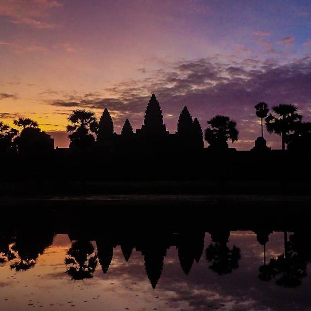 Angkor Wat, Cambodia Day 44: So stoked to have been able to experience this…