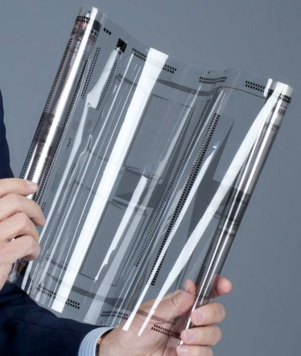 New flexible screen technology from XSense... may be used for smartphone and tablets as well computers