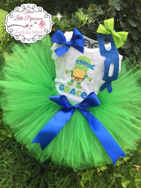 Hey, I found this really awesome Etsy listing at https://www.etsy.com/listing/239569948/teenage-mutant-ninja-turtles-tutu