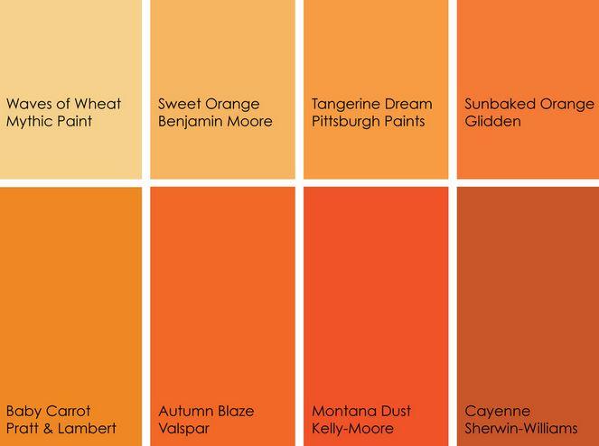 Glorious orange
