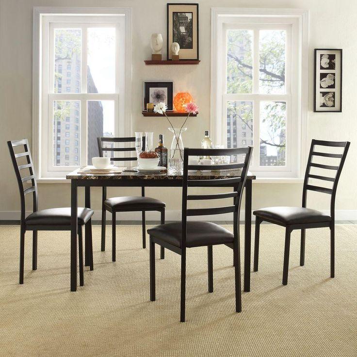 die besten 25+ faux marble dining table ideen auf pinterest, Esszimmer dekoo