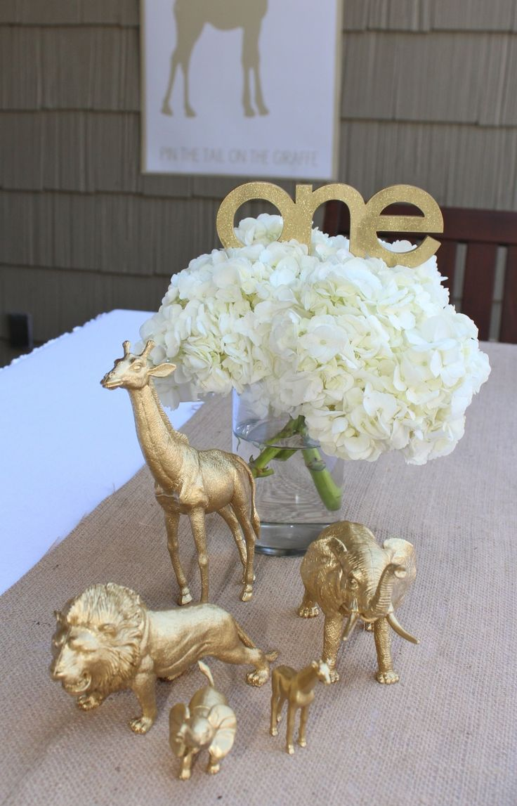 Golden Safari Party by Bloom Designs
