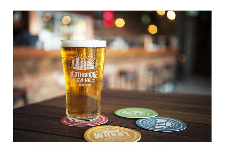 Northbridge Brewing company, branding and signage | Dessein