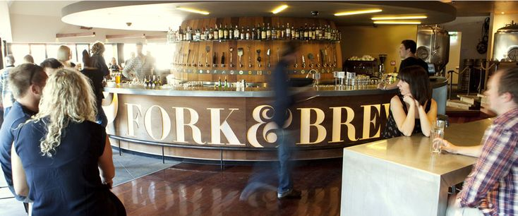 Welcome to the Fork & Brewer Restaurant and Bar, Wellington NZ.