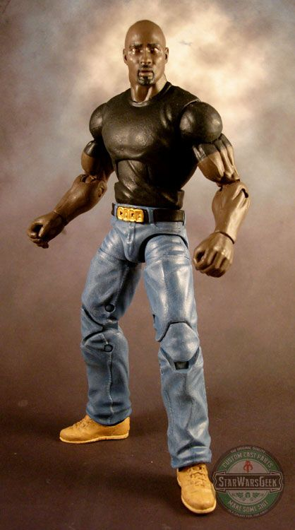 Luke Cage (Marvel Legends) Custom Action Figure