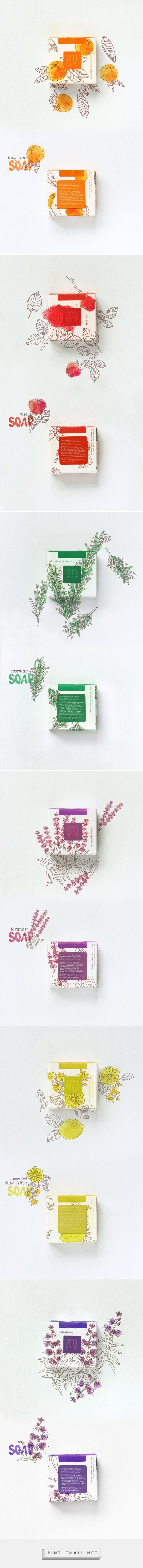 Aroma Mediterranea soaps — The Dieline - Branding & Packaging PD