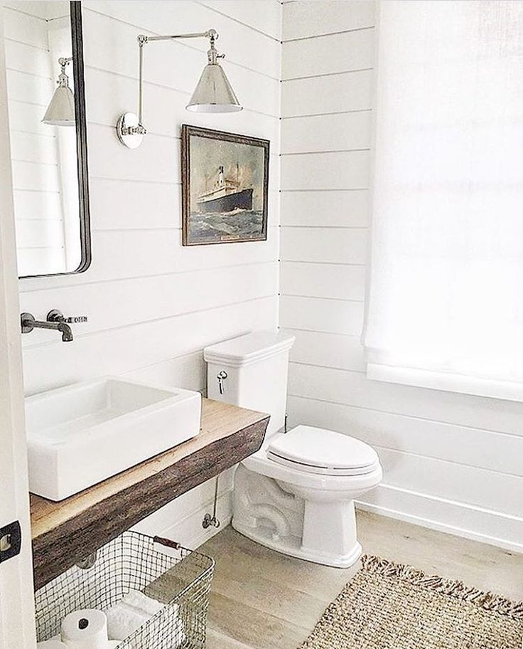 Image Result For Shiplap Bathroom Ideas