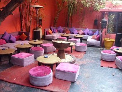 Decoración de terrazas estilo árabe: Deco Hindu, Decoración De Terraza, Decoracion Arab, 70S Styles, Homes Decoration, Decora Idea, Moroccan Patio, Idea Deco, Images Search