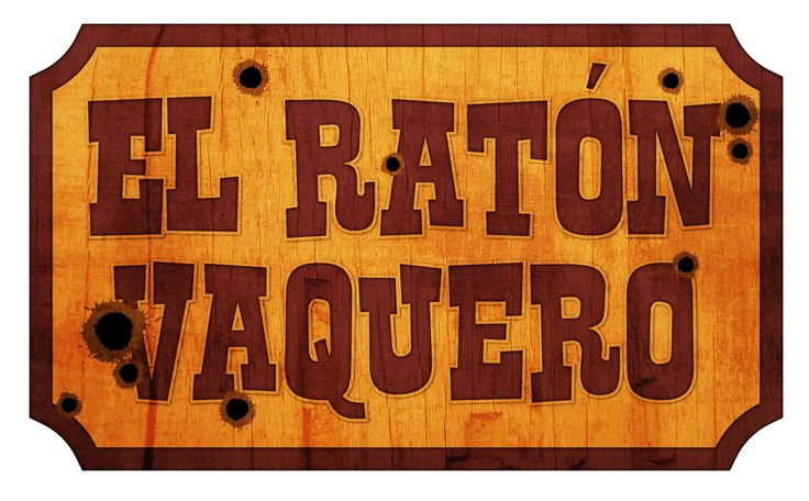 "Another logo based on one of Cri Cri's songs called ""El Raton Vaquero"" (The Cowboy Mouse)."