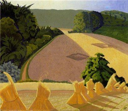 'The Cornfield' by John Nash (B149)