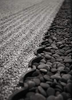 Order and shape play an important part in creating the minimalist Japanese style rock garden. Desert rock gardens tend to be informal and take advantage of more organic shapes.